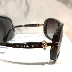 Alexander McQueen sunglasses with skulls